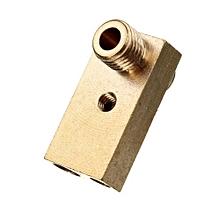 Ultimaker 2 UM2 Nozzle + Heaterblock 0.4mm For 3MM Filament Print Head 3 D Printer Accessory