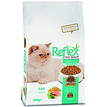 Premium Adult Cat Food Fish - 1.5kg