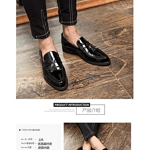 ee11d5b1d6 Generic Xinyida British large men s shoes fashion footwear lacquer leather  leisure shoes business suit shoes 225-C