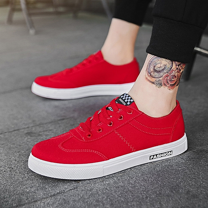 25620df8f34 New men s breathable casual shoes canvas shoes white shoes male student  shoes Korean plate shoes-
