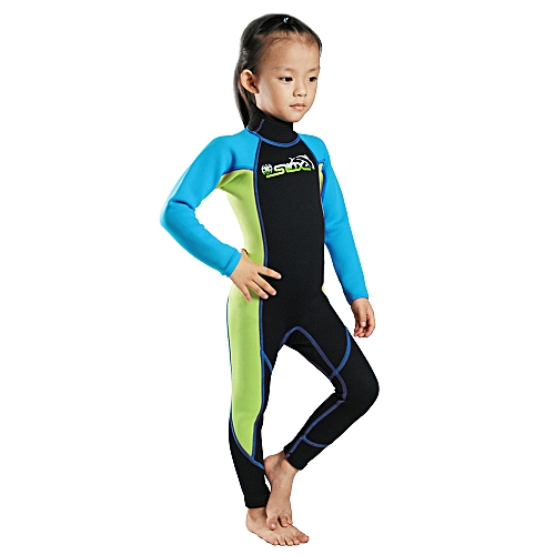 0a0d56308 Generic Kids Diving Suits 2MM Neoprene Wetsuit Boys Girls Zipper Canoeing Swimming  Snorkeling Kayaking Swimsuits