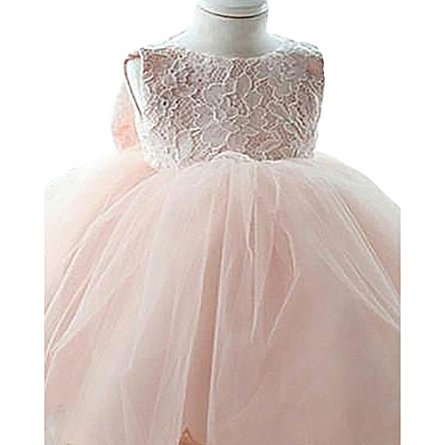 0081863132d Belle Baby Girl Party Dress - Peach   Best Price