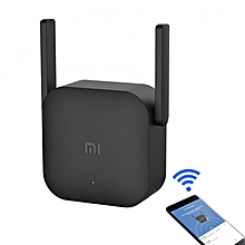 WiFi Amplifier Pro 300Mbps WiFi Smart Extender Router With 2x2 External Antennas(Black)
