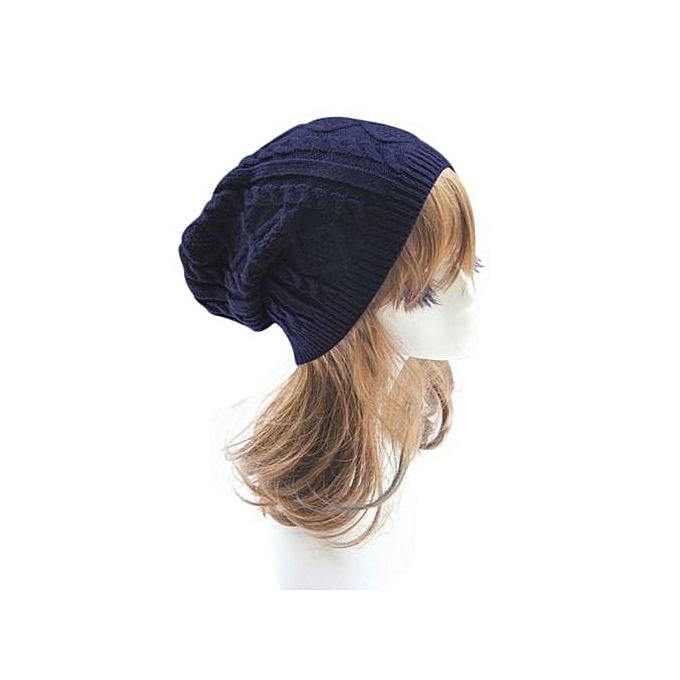 35b519893e0 Buy Eissely Unisex Knit Baggy Beanie Beret Winter Warm Oversized Ski ...
