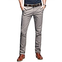 Khaki Trouser Pant Slim Fit - Grey