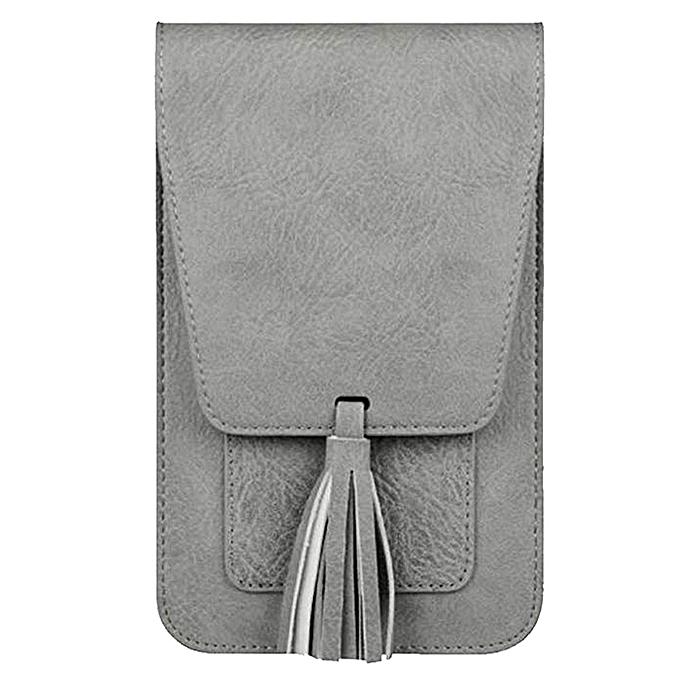 huskspo Crossbody bag Women Girl Outdoor Shoulder Bag Hand Bag Phone Bag 61e54074908a4