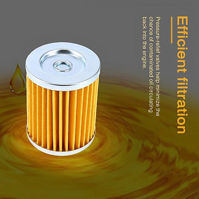 Oil Filter Suzuki King Quad 300, Quadrunner 160, 230 & 250, Ozark 250 Yellow