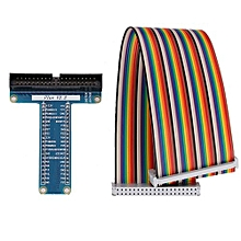 40Pin GPIO Cable Ribbon Breakout Extension Board For Raspberry Pi 2 3 B+