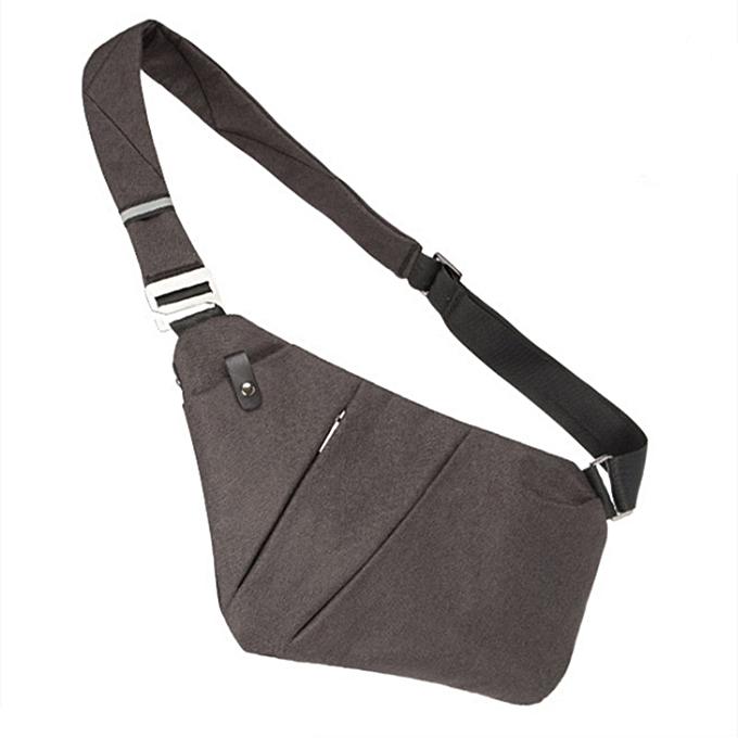 New Men Nylon Chest Bag Ultralight Canvas Cross Body Shoulder Bag Waterproof  Casual Short Trip Small 0e6bb4e5ab704