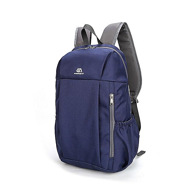 3eaad2a7846c Women Men Waterproof Outdoor Sports Backpack Travel Bag Hiking Camping Bag