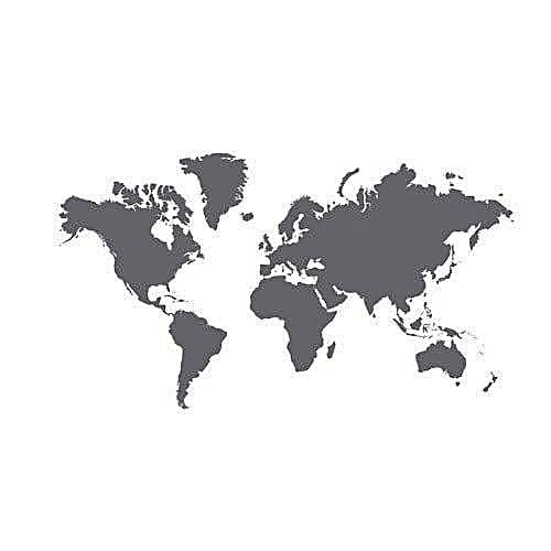Buy generic black klatta blackboard world map stickerdecal best black klatta blackboard world map stickerdecal gumiabroncs Images