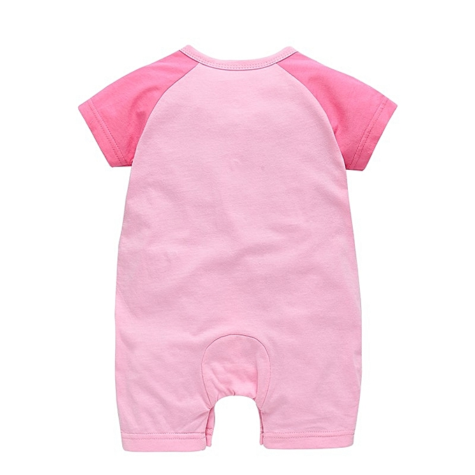 d4071c4f3b1b ... 2018 New pattern baby girl clothes boy rompers summer short sleeve  toddler infant jumpsuit clothing ...