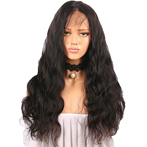 Popfeel Curly Wig Glueless Full Lace Wigs Black Women Indian Remy Human  Hair Lace Front-black fad2bbf3f