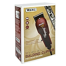 Full Head WAHL Balding Professional 5 Star Series Corded Hair Clipper Trimmers Hair care-Red