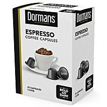 Espresso Coffee Capsules- 125g