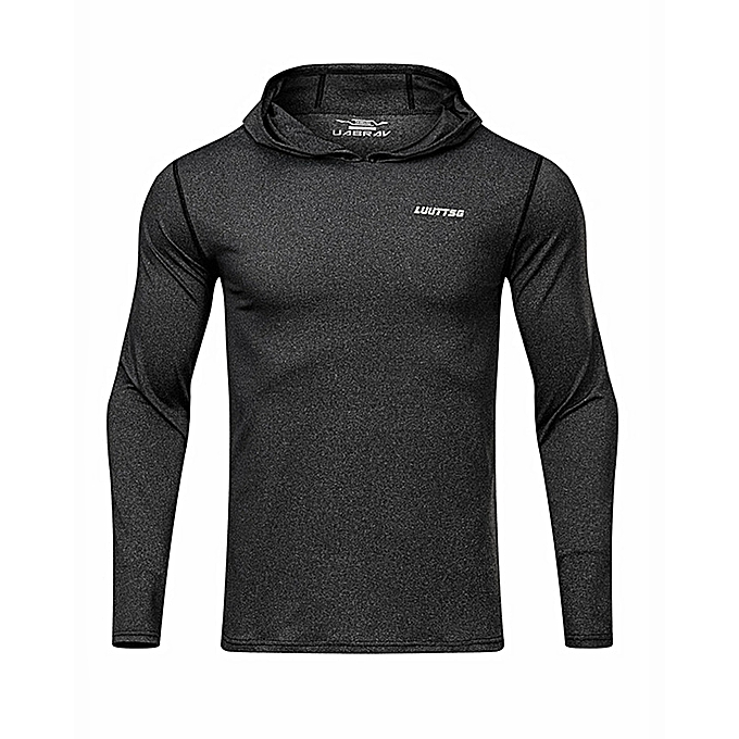 2e4142da Generic Men's Gym Workout Active Muscle Bodybuilding Long Sleeve ...