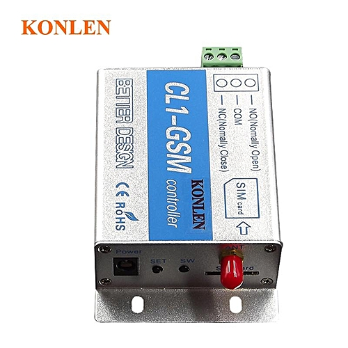 Smart Remote GSM Controller SMS Call Relay Switch For Home Appliances  On/Off Control