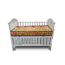 "Superfoam Multi-Colored Baby Cot Mattress 48"" x 30"" x 4"" (Foam Medium Density Mattress, Firm)"