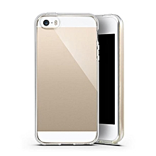 Case ULTRA THIN 0.3mm Clear Rubber Soft TPU Cover Case For iphone SE-Clear
