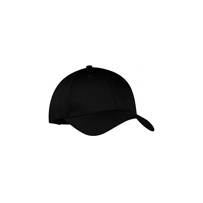 Generic Plain Golf Hat - Black   Best Price  e708692a9c66