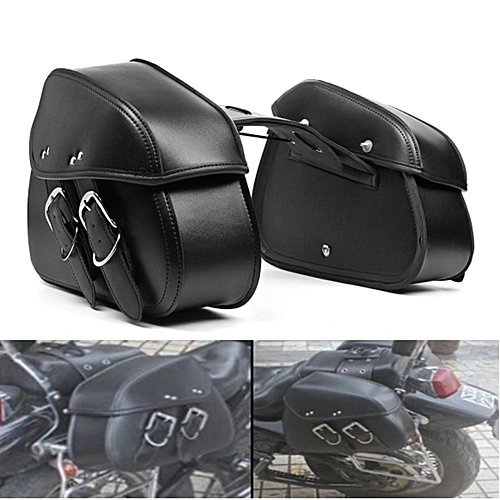 3072a6356742 Motorcycle PU Leather Saddlebags Saddle Swingarm Bag Left Right Side Tool  Bags For Sportster 1200