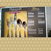 Cutlery Set - 53 Pieces - Silver