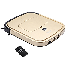 iiutec R-Cruiser Ultra Slim Vacuum Cleaner Household Cleaning Robot with Remote Control(Gold)