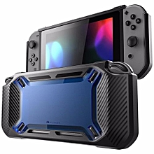 2018 Slim Rubberized Snap On Hard Case Cover For Nintendo Switch Blue