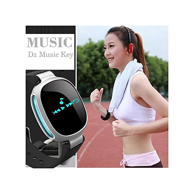 LEMFO E08 Heart Rate Monitor Waterproof Bluetooth Pedometer Call Message  Alert Sport Smart Watch For Android For IOS