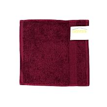 Face Towel - 400 GSM - 33cm x 33cm - Aubergine