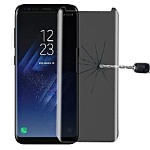 For Samsung Galaxy S8 / G950 0.3mm 9H Surface Hardness 3D Curved Privacy Anti-glare Non-full Screen Tempered Glass Screen Protector