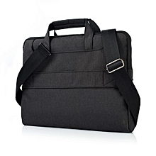 15 Inch Laptop Sleeve, Hand Bag Nylon Pouch Case For Macbook Air 15.4 Lenovo Laptop All Notebook, Black