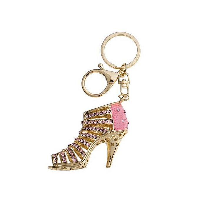Fashion Purse Jewelry Women Gift Delicate Beautiful Bag Handbag Pendant  Charm Key Holder Bag Jewelry 3D Fashion Crystal Keyring High Heel Shoes  Keychain ... bbdc735297