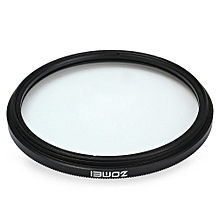 52mm UV Protection Filter - Black