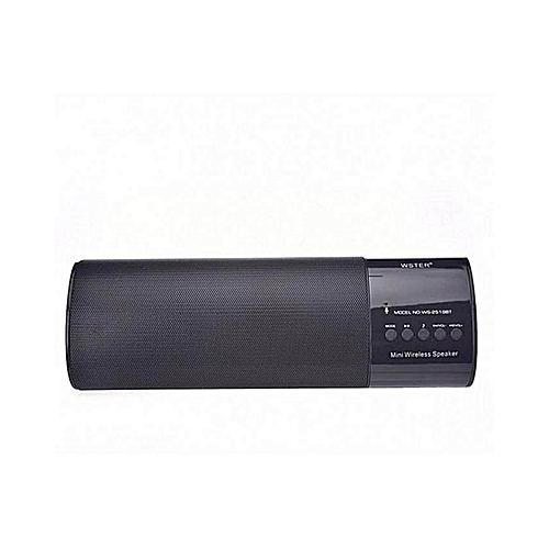 f8db260e4125 Wster 2519BT Portable Wireless Speaker, MP3 Player & Radio - WHITE ...