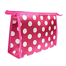 bluerdream-Superior Quality Multi Color Pattern Cute Color Multi-Function Cosmetic Bag-Hot Pink