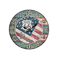Route 66 Sign - 30 cm x 30 cm - Multi-Colored