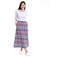 Multicoloured Fashionable Skirt