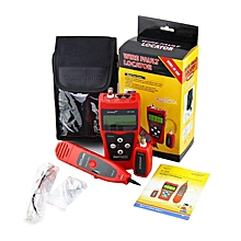 TA-Noyafa NF-308 Multipurpose LCD Display Network Cable Tester Line Finder*Red