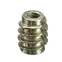 9 Size M4 M5 M6 M8 M10 Hex Drive Screw In Threaded Insert For Wood (Type E) M4x10