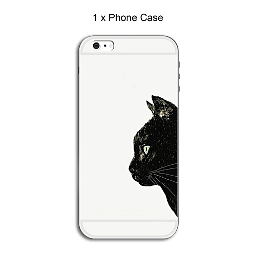 CO Color Printing Cell Phone Case TPU Mobile Cover For iPhone Series-8#