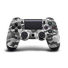 LEBAIQI Bluetooth Wireless PS4 Controller for PS4 Vibration Joystick Gamepad PS4 Game Controller Color:Gray camouflage