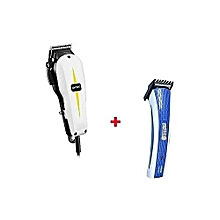 Professional Hair Clipper Classic Series/Shaving Machine + a FREE Nova Rechargeable Hair And Beard Trimmer