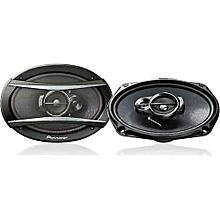 "pioneer vehicle 6"" X 9"" 3-Way Speaker-Midnight Black"