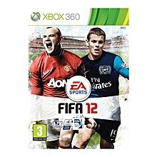 XBOX 360 Game FIFA 12