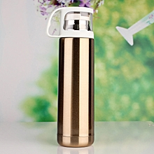 Wholesale 500ml Korea Style Fashion Design Portable Bottle Water Cup Long Heat Preservation OL Girlfriend Considerate Gift Hot