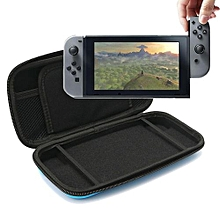 Hard Portable Travel Carrying Protective Storage EVA Case Bag Shell Sleeve Cover For Nintendo Switch Cables Game Card Accessories Black
