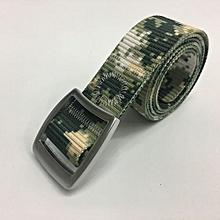 New Arrival New Style Canvas Belt Fashion Men's Outdoor Sport Tactical Belt Nylon Fan Speed Dry Bel-01