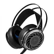 COMBATERWING M160 Stereo HIFI LED Light Over Ear Gaming Headphone Headset With Mic Noise Isolating