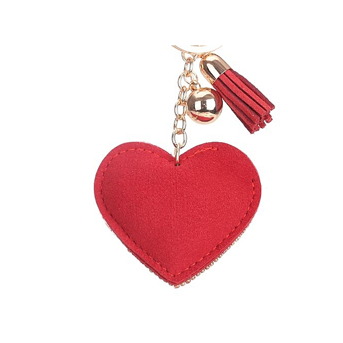 Buy Generic Love Rhinestone Tassel Keychain Bag Handbag Key Ring Car
